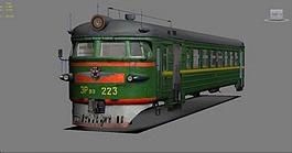 3d модель поезда