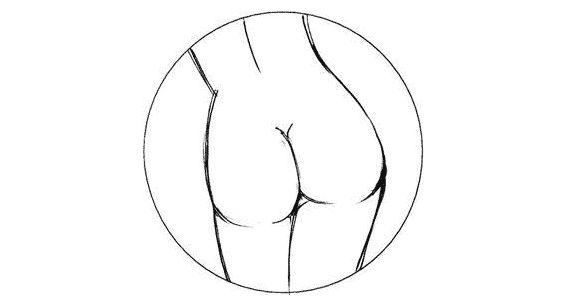 Как рисовать сиськи и попку фото 53-435