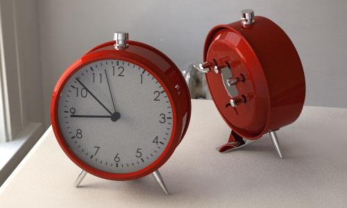 free models clock