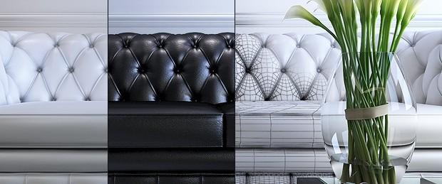 урок по 3d моделированию дивана