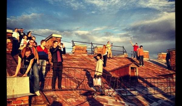 Экскурсия по крыше